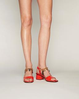 The Charm Bracelet Sandal--Alternate view