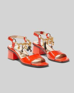 마크 제이콥스 Marc Jacobs The Charm Bracelet Sandal,RED