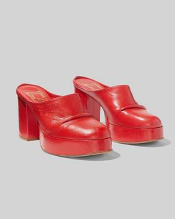 마크 제이콥스 Marc Jacobs The Clog,RED