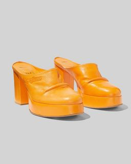 마크 제이콥스 Marc Jacobs The Clog,TANGERINE