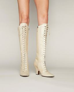 The Tall Victorian Boot--Alternate view