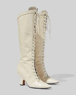 마크 제이콥스 Marc Jacobs The Tall Victorian Boot,IVORY