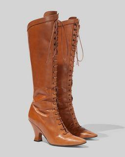 마크 제이콥스 Marc Jacobs The Tall Victorian Boot,COGNAC