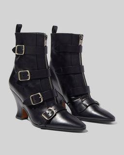마크 제이콥스 Marc Jacobs The St Marks Victorian Boot,BLACK
