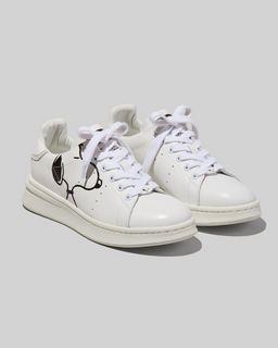 마크 제이콥스 Marc Jacobs Peanuts x 마크 제이콥스 Marc Jacobs The Tennis Shoe,WHITE