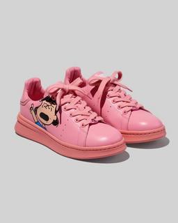 마크 제이콥스 Marc Jacobs Peanuts x 마크 제이콥스 Marc Jacobs The Tennis Shoe,PINK