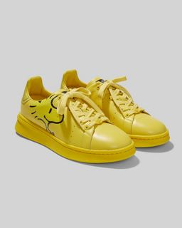 마크 제이콥스 Marc Jacobs Peanuts x 마크 제이콥스 Marc Jacobs The Mens Tennis Shoe,YELLOW