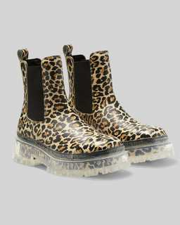 마크 바이 마크 제이콥스 Marc Jacobs The Leopard Boot,BROWN MULTI