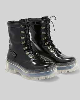 마크 바이 마크 제이콥스 Marc Jacobs The Lace Up Boot,BLACK