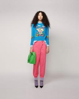 Magda Archer x The Intarsia Sweater Marc Jacobs--Alternate view