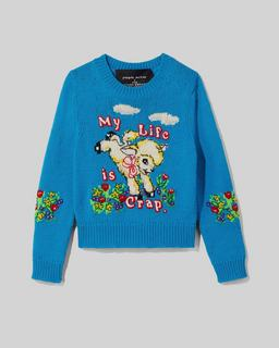 Magda Archer x The Intarsia Sweater Marc Jacobs