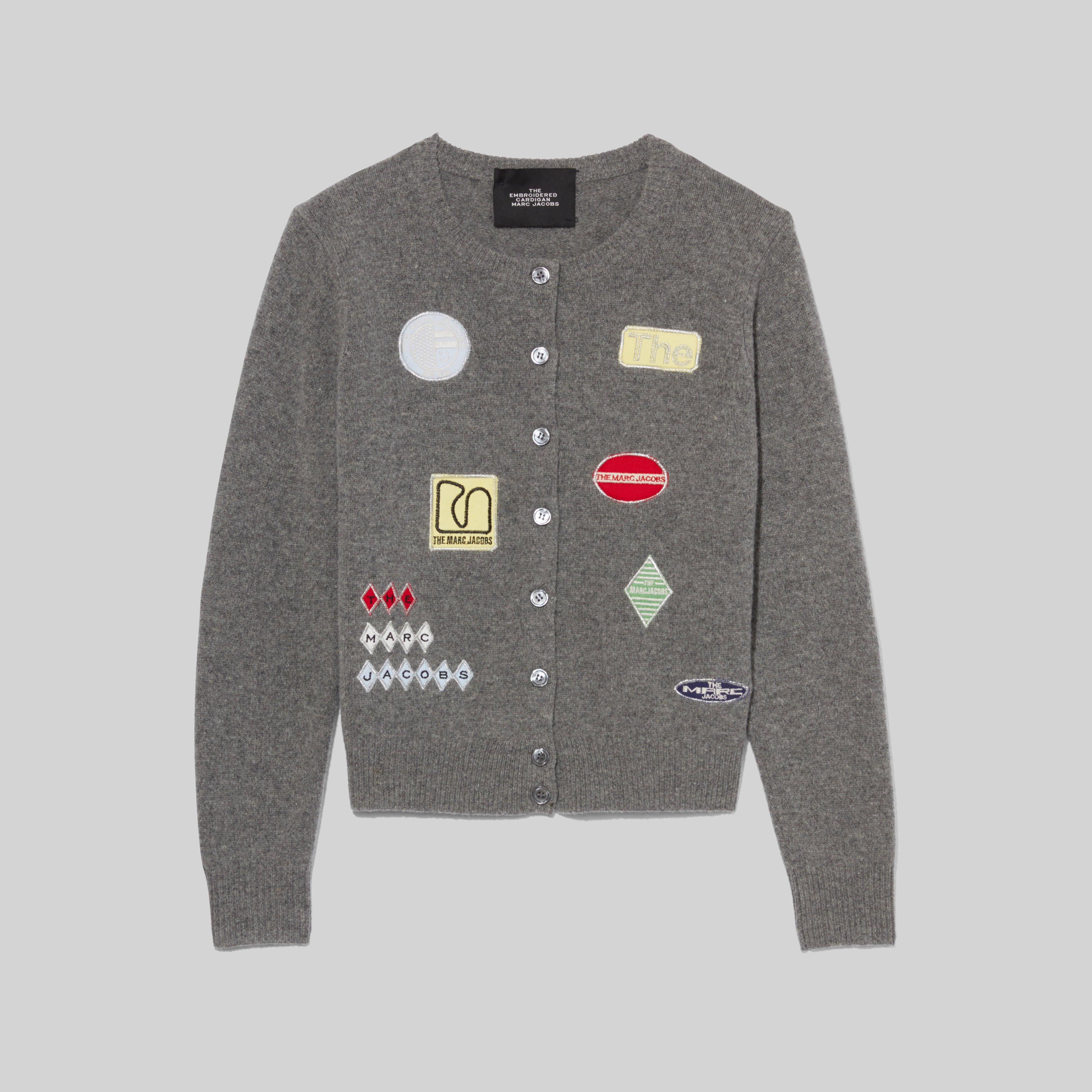 Marc Jacobs The Embroidered Cardigan