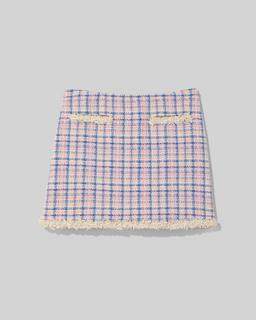 마크 제이콥스 Marc Jacobs The Tweed Suit Skirt,Ivory