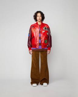 The Men's Varsity Jacket--Alternate view