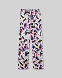 마크 제이콥스 Marc Jacobs The Pajama Pants,White Multi
