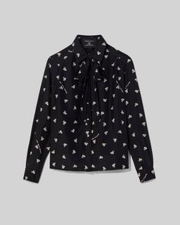 Magda Archer x The Silk Shirt Marc Jacobs