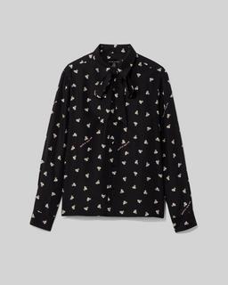 Magda Archer x The Men's Silk Shirt Marc Jacobs
