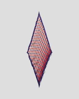 The Diamond Scarf Polka Dots