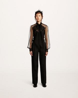 Pleated Trouser--Alternate view