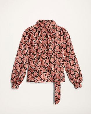 Paisley Silk Blouse