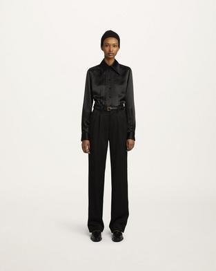Pleated Tuxedo Pant--Alternate view