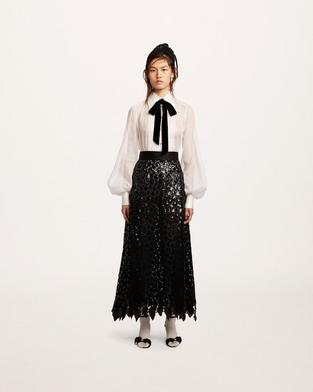 Sequin Embroidered Skirt--Alternate view