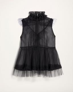Layered Organza Top