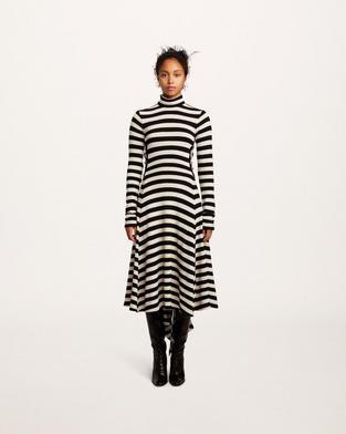 Striped Jersey Dress--Alternate view