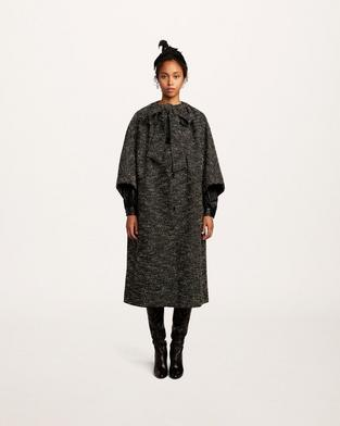 Boucle Tweed Coat--Alternate view