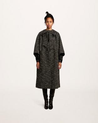 Boucle Tweed Coat--Alternate view