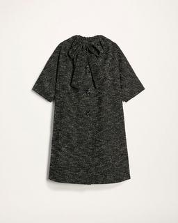 Boucle Tweed Coat