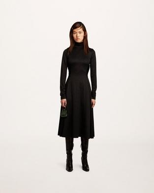 Glitter-Print Dress--Alternate view