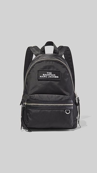 마크 제이콥스 미디움 백팩 - 블랙 Marc Jacobs The Medium Backpack,BLACK