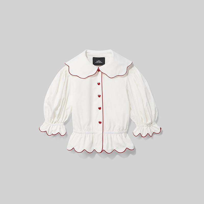 Marc Jacobs The Romantic Blouse In Ivory