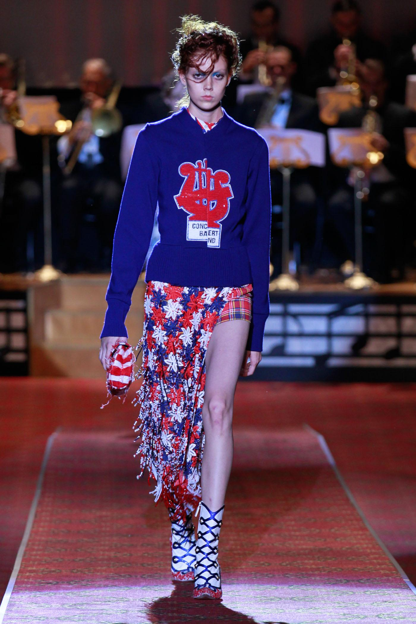 images Anna ewers marc jacobs fashion show fw 2014 new york mq runway candids