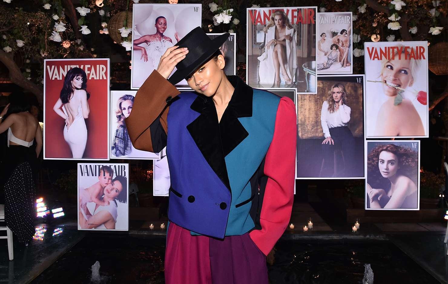 Zendaya wears Marc Jacobs Fall 2018