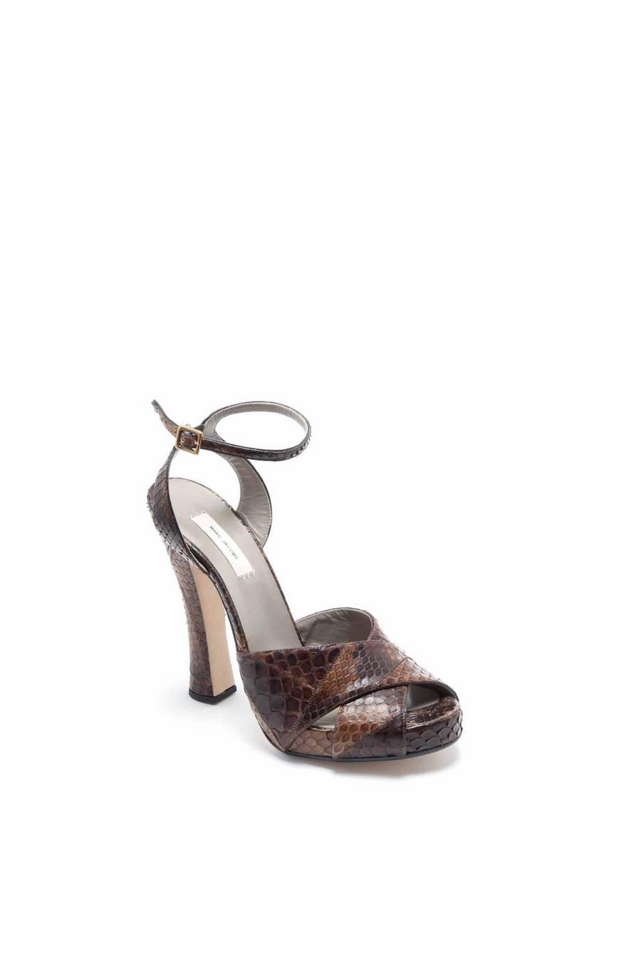 6150ddd8357103 Python Sandal In Brown - Lookbook - Marc Jacobs