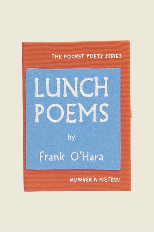 Lunch Poems Book Purse by Olympia Le-Tan