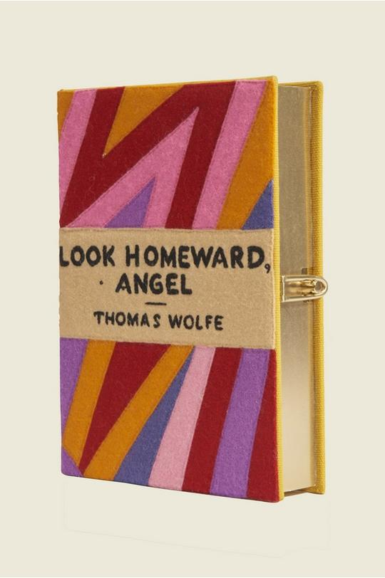 Look Homeward Angel Book Clutch by Olympia Le-Tan