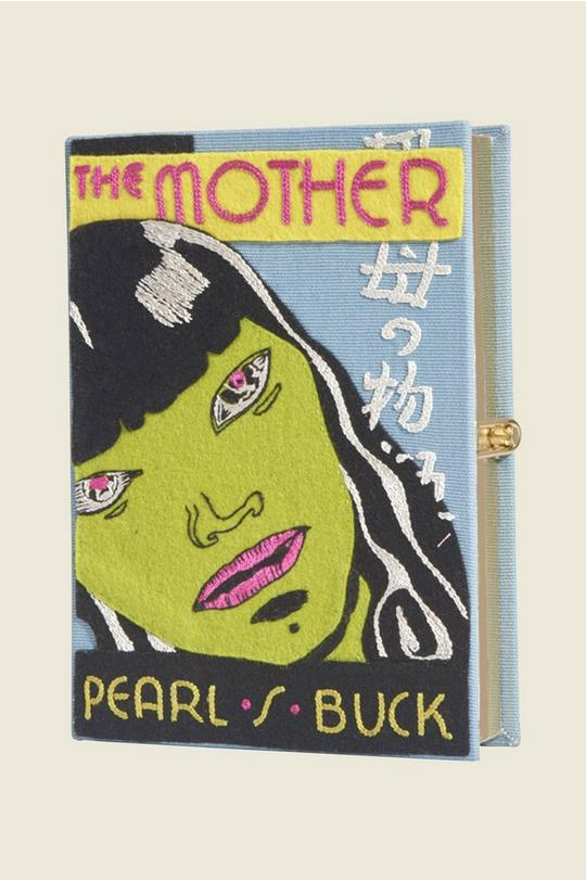 Pearl S. Buck The Mother Book Purse by Olympia Le-Tan