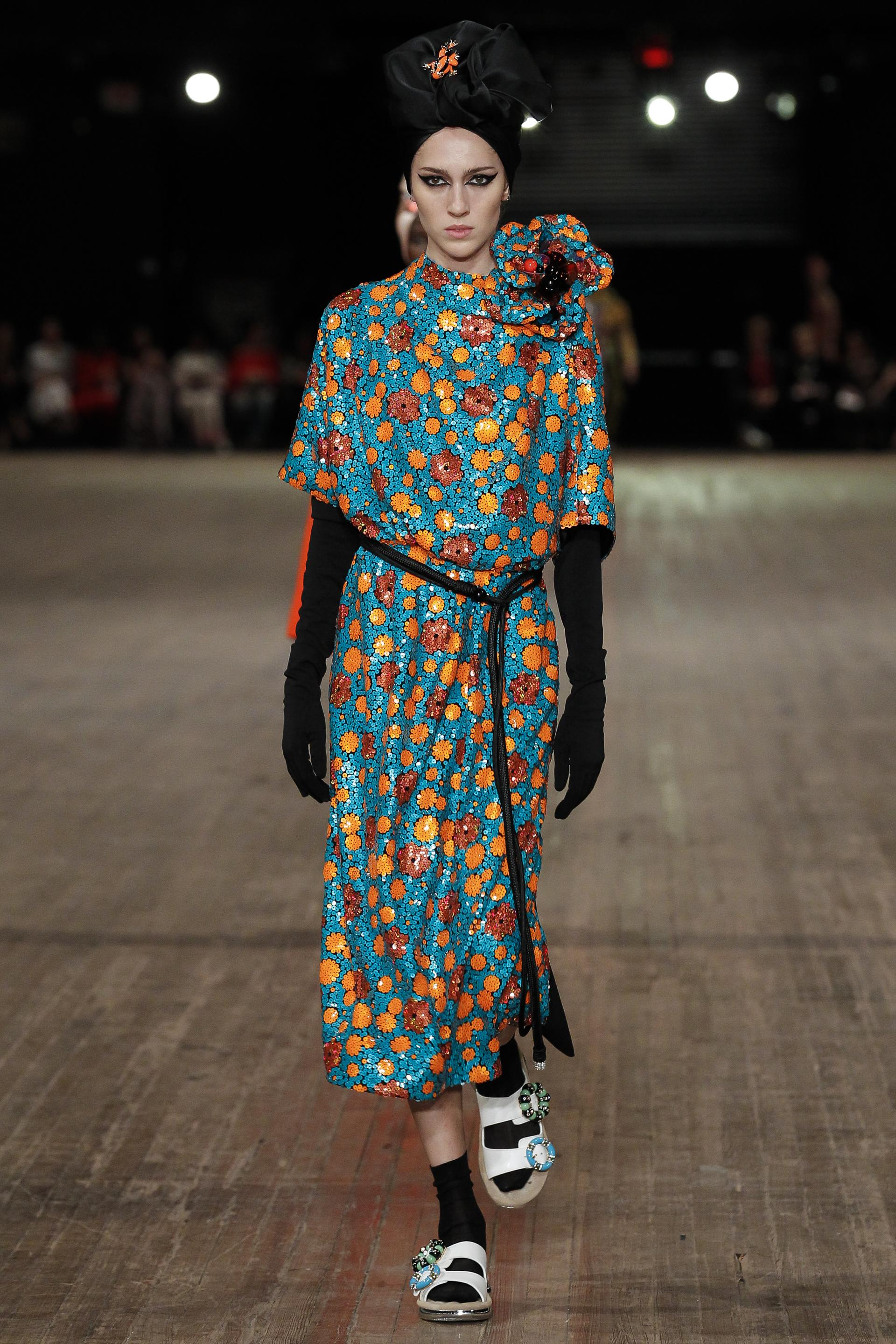dress - Marc marc jacobs spring runway video