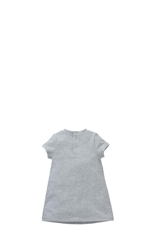 Printed Fleece Dress