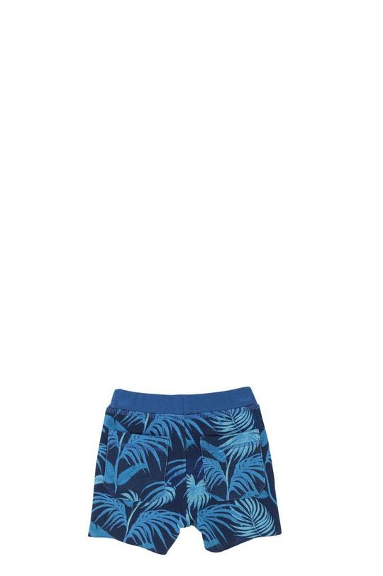 Printed Fleece Shorts