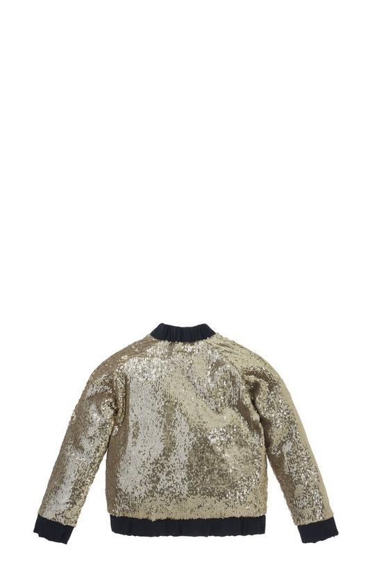 Sequin Teddy Jacket