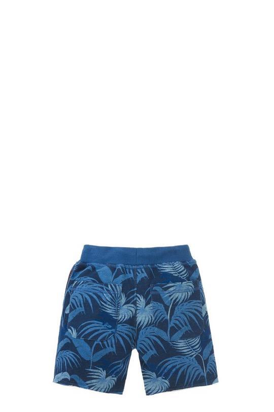 Allover Print Fleece Shorts