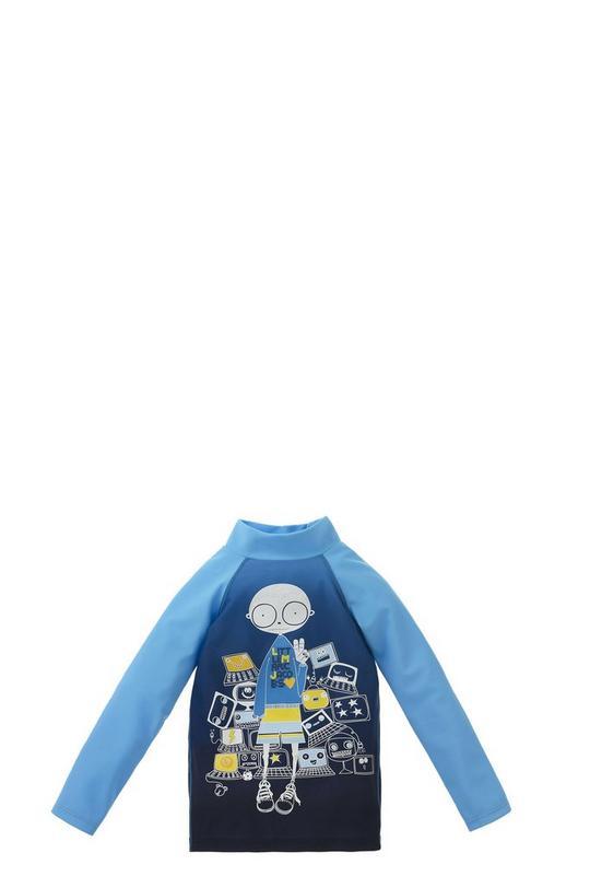 Anti-UV Graphic Tee Shirt