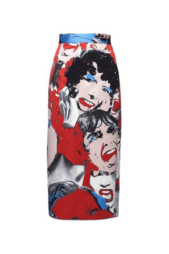 Scream Queen Scuba Skirt