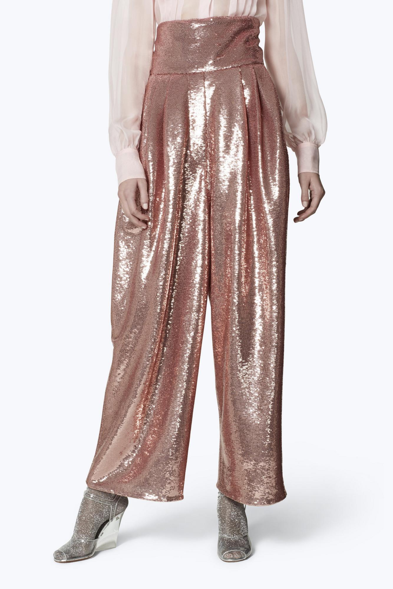 Micro Sequin Dress Pants by Marc Jacobs