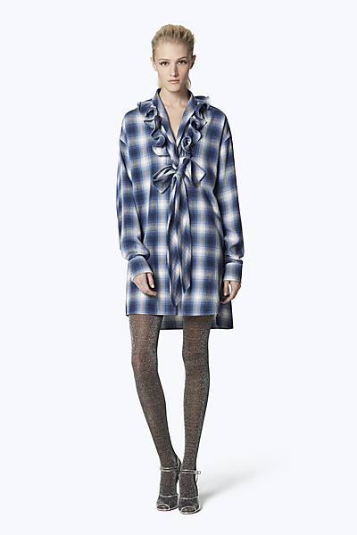 a7b1d355b266 Plaid Cotton Ruffle Dress ...