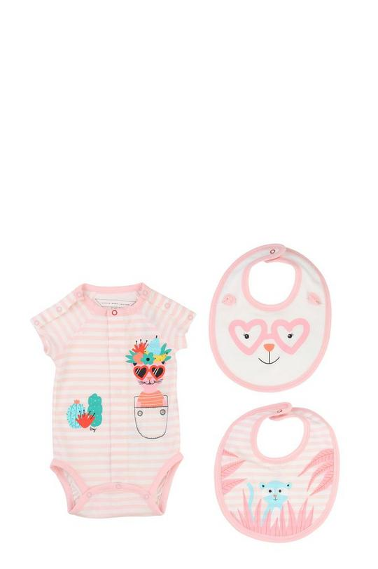 Pajama and Bib Set